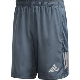 "adidas OWN The Run Shorts 7"" Hombre, legacy blue/reflective silver"